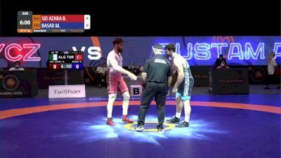 87kg Bronze - Metehan Basar, TUR vs Bachir Sid Azara, ALG