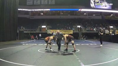 197 lbs 5th Place - Costas Hatzipavlides, Iowa State University WC vs Tyler Roling, Iowa State University WC