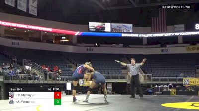 136 lbs Final - Charisse Manley, Liberty University - W vs Aliyah Yates, Big Bend Community College - W