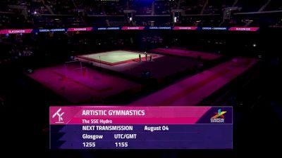 Day 1: 2018 UEG Artistic Gymnastics European Championships, Women