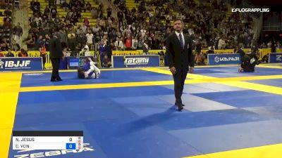 CHARLOTTE VON BAUMGARTEN vs NATHIELY KAROLINE MELO DE JESUS 2019 World Jiu-Jitsu IBJJF Championship