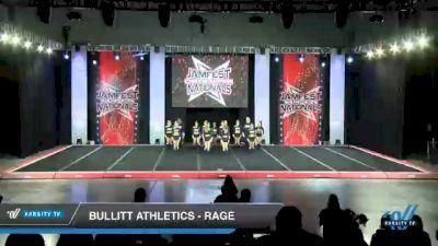 Bullitt Athletics - Rage [2021 L4 Senior Coed - Small Day 2] 2021 JAMfest Cheer Super Nationals