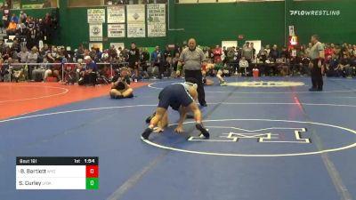 138 lbs Prelims - Beau Bartlett, Wyoming Seminary vs Sean Curley, Lynbrook
