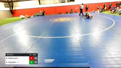 110 lbs Prelims - Brock Rothermel, Olympia vs Antonio Arguello, Phoenix