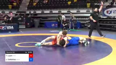 79 kg Prelims - Taylor Lujan, Panther Wrestling Club RTC vs Joseph DeMatteo, Washington