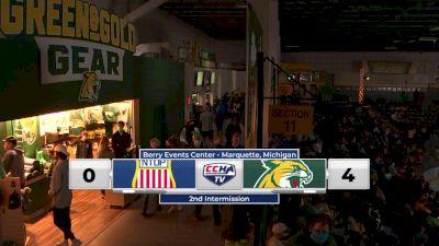 Replay: USNTDP U18's vs Northern Michigan - 2021 USA Hockey National vs Northern Michigan | Oct 15 @ 7 PM