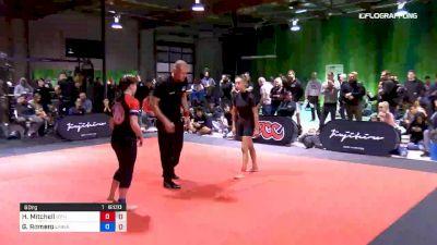 Haley Mitchell vs Gabriella Romero 2019 ADCC North American Trials