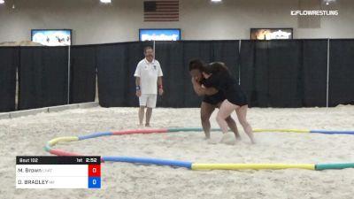 70 lbs Semis - Miranda Brown, Unattached vs DONELL BRADLEY, Morris Fitness