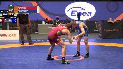 65 kg Match - Andrii Svyryd, UKR vs Vasyl Shuptar, UKR