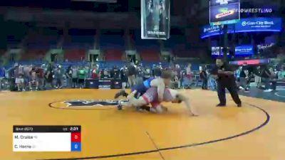 285 lbs Round Of 16 - Matthew Cruise, Pennsylvania vs Chase Horne, Georgia
