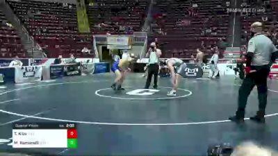 172 lbs Quarterfinal - Trey Kibe, Mifflin County vs Matt Romanelli, Downingtown East