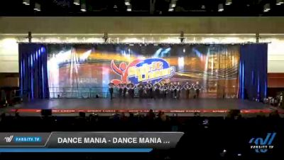 Dance Mania - Dance Mania Junior Jazz [2020 Junior - Jazz Day 2] 2020 All American DI & DII Nationals