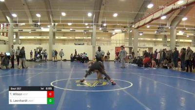 Quarterfinal - Tariq Wilson, NC State vs Spencer Leonhardt, Unattached