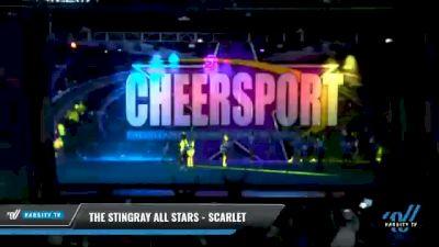 The Stingray All Stars - Scarlet [2021 L3 Junior - Medium - A Day 1] 2021 CHEERSPORT National Cheerleading Championship