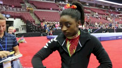 Simone Biles - Interview - 2018 GK US Classic