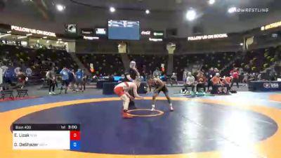 61 kg 3rd Place - Ethan Lizak, New York Athletic Club vs Daniel DeShazer, Gopher Wrestling Club - RTC