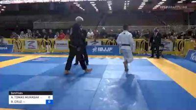 ANDY TOMAS MURASAKI PEREIRA vs RENAN CRUZ 2020 Pan Jiu-Jitsu IBJJF Championship