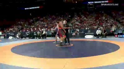 130 kg Round 2 - Jacob Mitchell, Army (WCAP) vs Cohlton Schultz, Sunkist Kids Wrestling Club