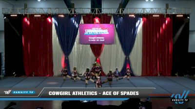 Cowgirl Athletics - Ace of Spades [2021 L1 Junior - D2 - Small Day 2] 2021 The American Spectacular DI & DII