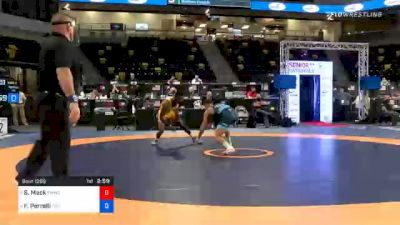 57 kg Consolation - Shelton Mack, TMWC / New York City RTC vs Frank Perrelli, Titan Mercury Wrestling Club (TMWC) / LVWC