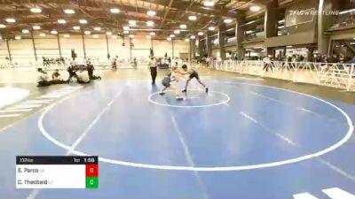 132 lbs Prelims - Ej Parco, CA vs Colton Theobald, UT