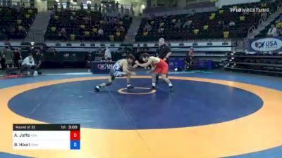 74 kg Prelims - Aj Jaffe, New England Regional Training Center vs Benjamin Houri, Iowa