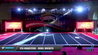 CTA Highflyers - Rebel Rockets [2021 L1 Mini - D2 Day 2] 2021 ACP: Midwest World Bid National Championship