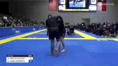 HELTON JOSE M DA SILVA JUNI vs KEVIN JAMES BERBRICH 2021 World IBJJF Jiu-Jitsu No-Gi Championship