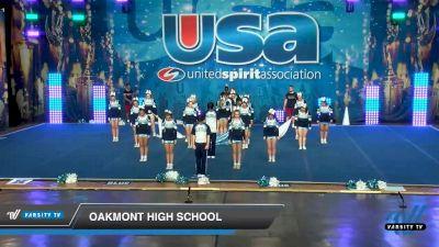 Oakmont High School [2020 Co-Ed Varsity Show Cheer Intermediate Day 1] 2020 USA Spirit Nationals