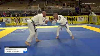 DAVID RODRIGUEZ vs ERIK THOR BARTKOWIAK 2020 World Master IBJJF Jiu-Jitsu Championship