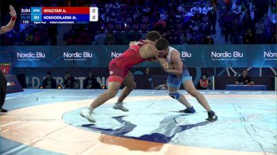 79 kg 1/8 Final - Arman Avagyan, Armenia vs Mohammad Nokhodilarimi, Iran