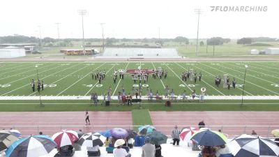 """East Bernard H.S. """"East Bernard TX"""" at 2021 USBands Ganado Showcase"""
