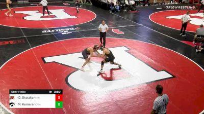 174 lbs Semifinal - Devin Skatzka, Minnesota vs Michael Kemerer, Iowa