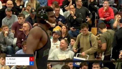 145lbs Semifinal: Manzona Bryant, Western Reserve Academy vs Lachlan McNeil, Wyoming Seminary
