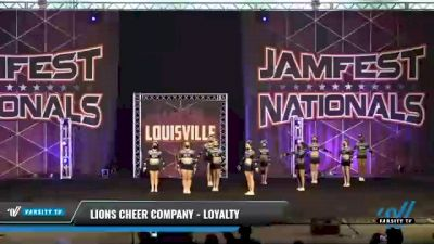 Lions Cheer Company - Loyalty [2021 L2 Senior Day 1] 2021 JAMfest: Louisville Championship