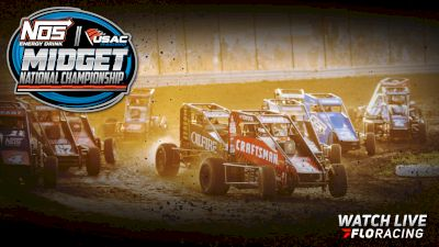 Full Replay | USAC Midwest Midget Championship Friday at Jefferson Co. 7/16/21