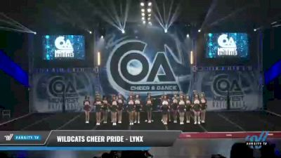 Wildcats Cheer Pride - Lynx [2021 L2 Senior - Small Day 1] 2021 COA: Midwest National Championship