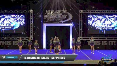 Majestic All Stars - Sapphires [2021 L1 Junior Day 2] 2021 The U.S. Finals: Ocean City