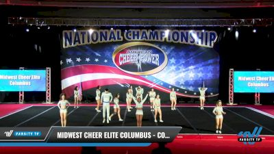 Midwest Cheer Elite Columbus - Coed Couture [2021 L6 Senior Coed - XSmall Day 1] 2021 ACP: Midwest World Bid National Championship