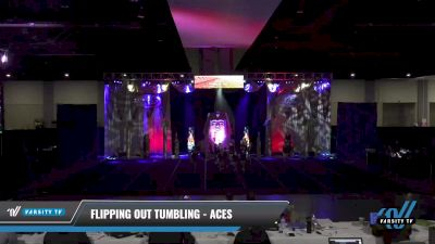 Flipping Out Tumbling - Aces [2021 L1 Youth - D2 - Small Day 2] 2021 Queen of the Nile: Richmond