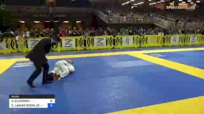 VALERIANO ELIZONDO vs CRAIG LAMAR ODOM JR 2021 Pan Kids Jiu-Jitsu IBJJF Championship
