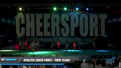Athletic Cheer Force - First Class [2021 L1 Youth - D2 Day 1] 2021 CHEERSPORT: Charlotte Grand Championship