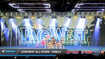 Gym-Nest All Stars - Ariels [2020 L3 Junior - D2 - Small - A Day 2] 2020 PacWest