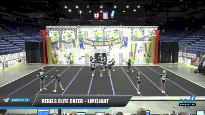 Rebels Elite Cheer - LimeLight [2021 L2 Senior] 2021 MG Bead Blast