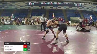 195 lbs Final - Franklin Cruz, Marshals vs Jack Forbes, Elite Athletic Club DZ
