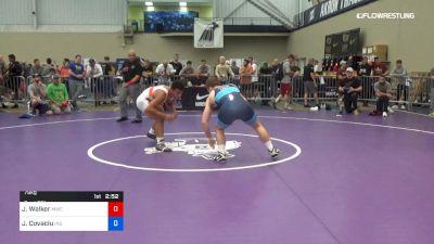 79 kg Round Of 16 - Joseph Walker, Mishawaka Wrestling Club vs Jacob Covaciu, Indiana