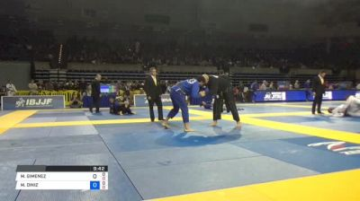 MAX GIMENIS vs MATHEUS DINIZ 2018 Pan Jiu-Jitsu IBJJF Championship