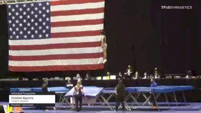 Cristian Aguirre - Individual Trampoline, Integrity Athletics - 2021 USA Gymnastics Championships