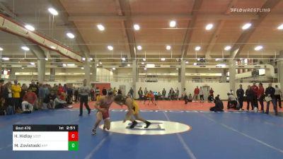 Semifinal - Hayden Hidlay, NC State vs Matthew Zovistoski, Appalachian State