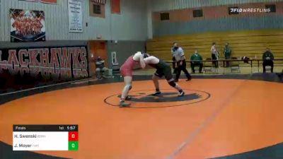 285 lbs Final - Hogan Swenski, Bermudian Springs vs Jake Moyer, Fairfield